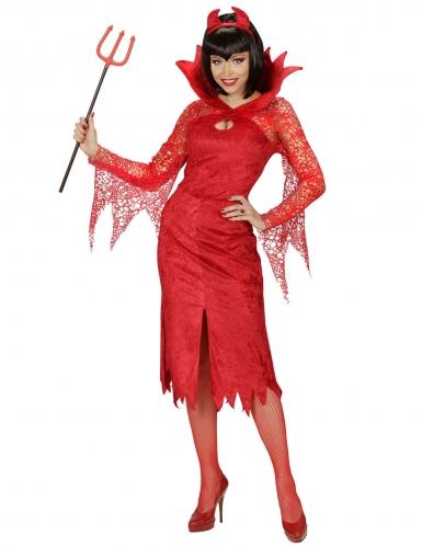 Déguisement diablesse rouge femme