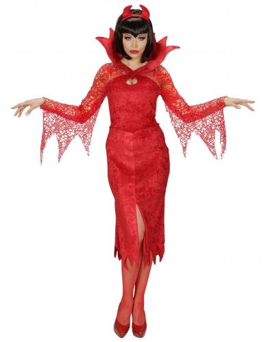 Déguisement diablesse rouge femme-1