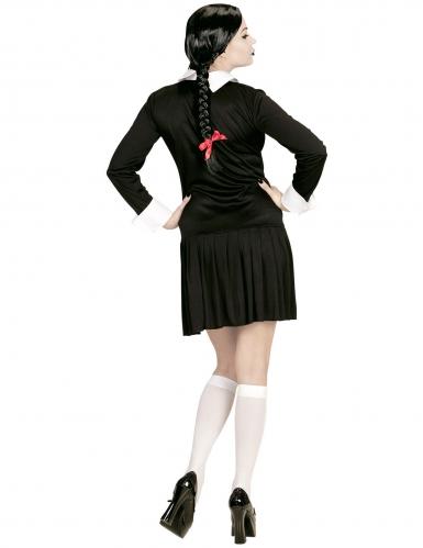 Déguisement écolière gothique femme-2