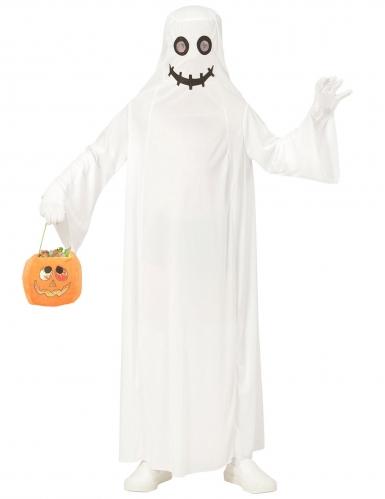 Déguisement fantôme blanc enfant-1