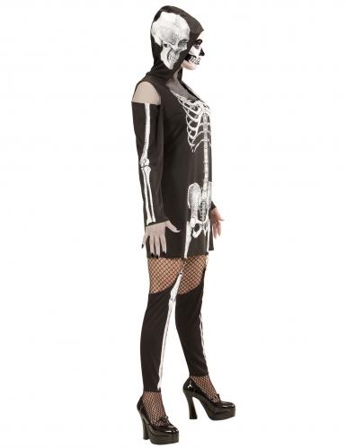 Déguisement squelette à jambières femme-2