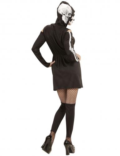 Déguisement squelette à jambières femme-3