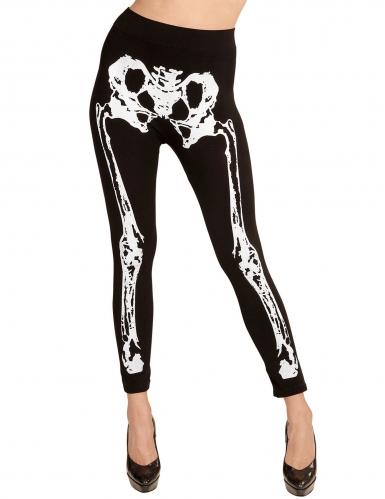 Legging squelette femme-1