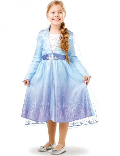 Déguisement classique Elsa La Reine des neiges 2™ fille