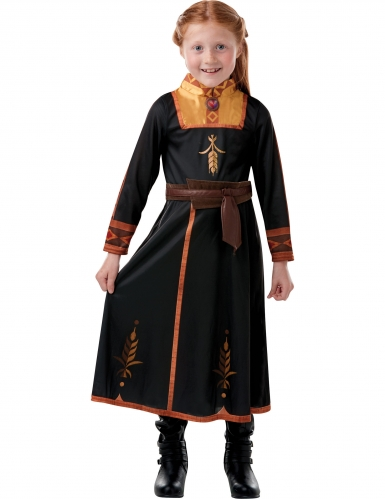Déguisement classique Anna La Reine des neiges 2™ fille-2
