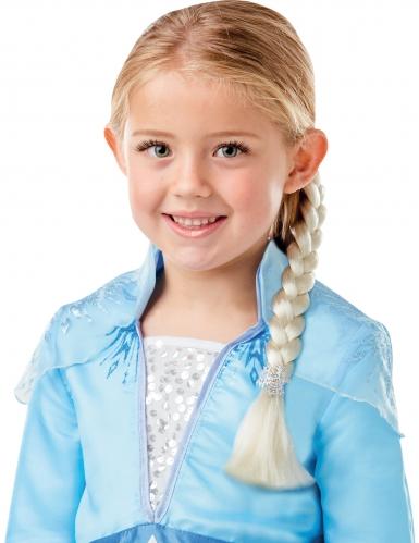 Coffret déguisement et tresse Elsa La Reine des neiges 2™ fille-1