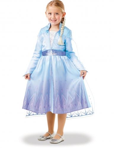 Coffret déguisement et tresse Elsa La Reine des neiges 2™ fille-3
