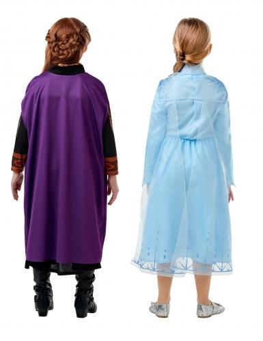 Coffret déguisements Elsa et Anna La Reine des neiges 2™ fille-1