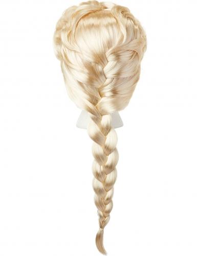 Perruque luxe Elsa La Reine des Neiges 2™ fille-1