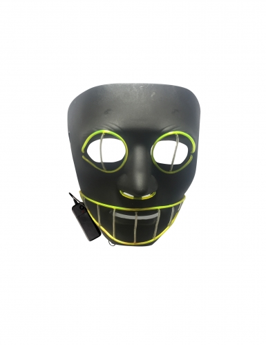 Masque luxe LED chat adulte