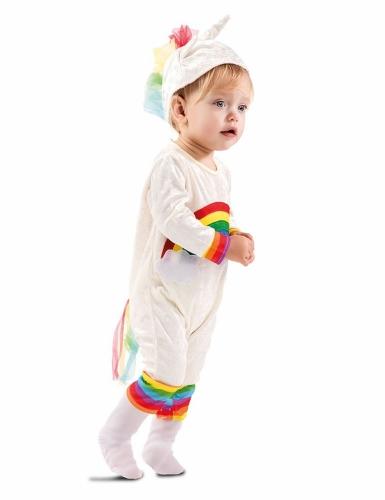 Déguisement combinaison licorne bébé-1