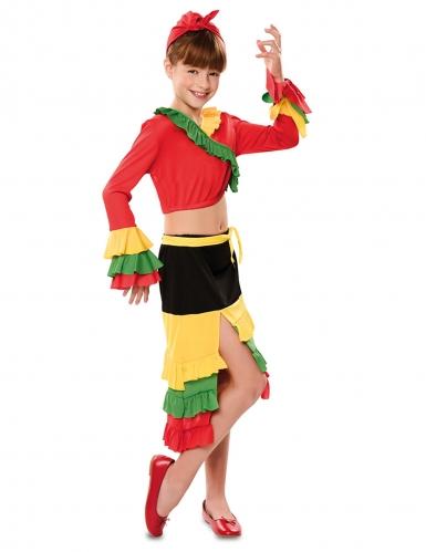 Déguisement danseuse de rumba fille-1