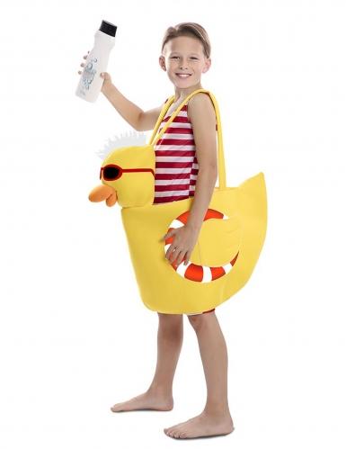 Déguisement canard de bain enfant-1