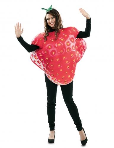Déguisement grande fraise adulte