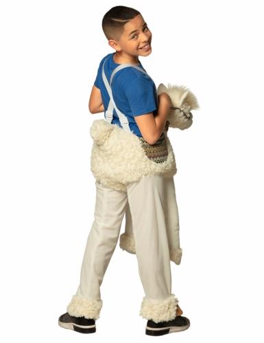 Déguisement à dos de lama blanc enfant-1