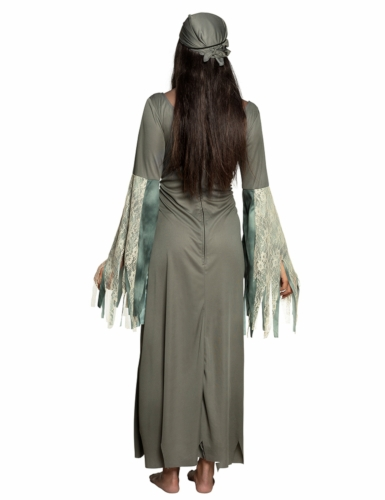 Déguisement robe longue pirate fantôme femme-1