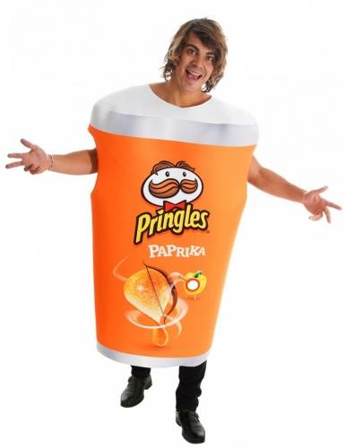 Déguisement boîte Pringles™ paprika adulte
