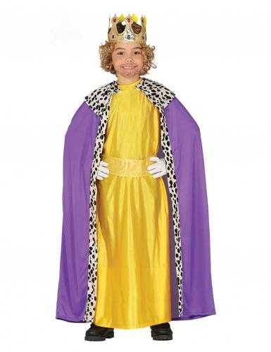 Déguisement Roi Mage jaune enfant