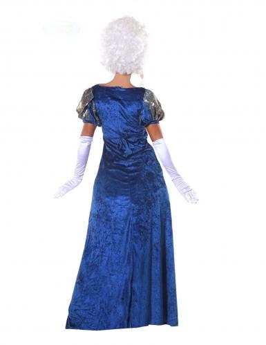 Déguisement marquise bleue femme-1