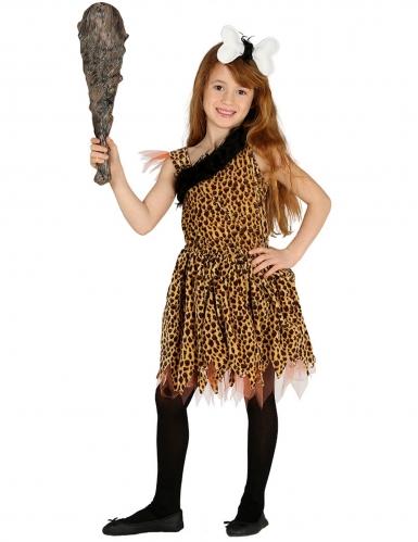 Déguisement préhistorique fille