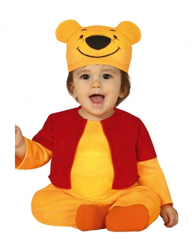 Déguisement petit ourson jaune bébé