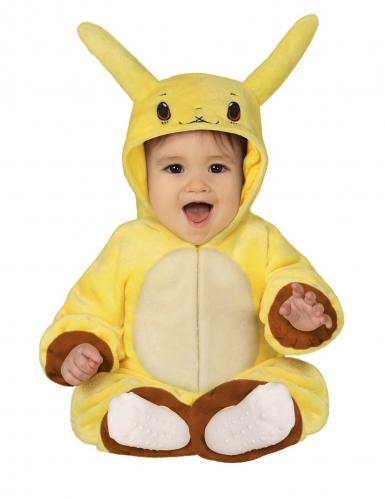 Déguisement bonhomme jaune électrique bébé