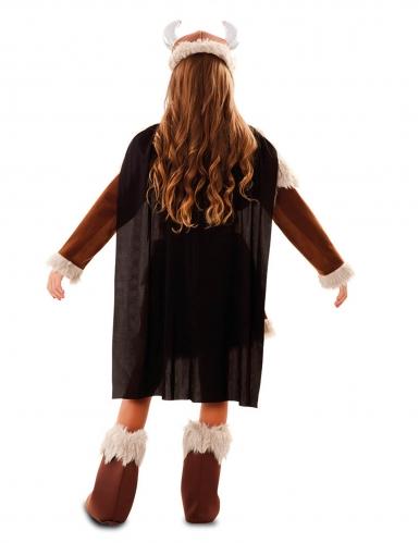 Déguisement viking marron fille-2