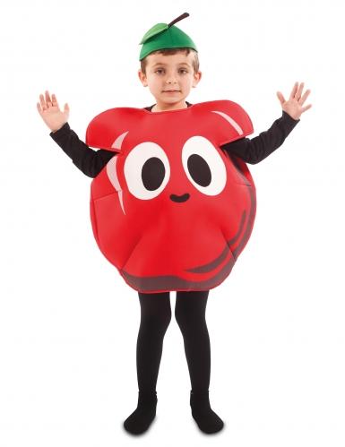 Déguisement pomme rouge enfant-1