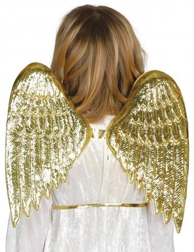 Ailes d'ange dorées enfant