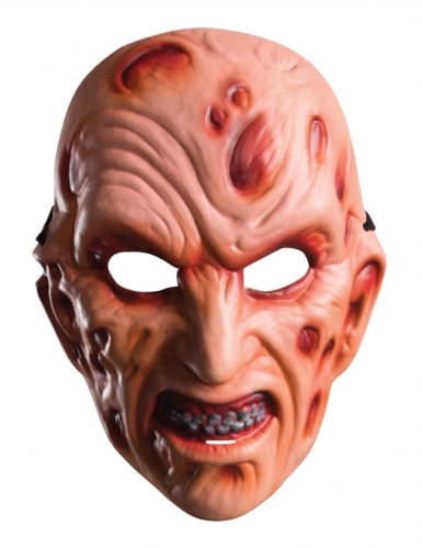 Masque en plastique Freddy™ adulte-1