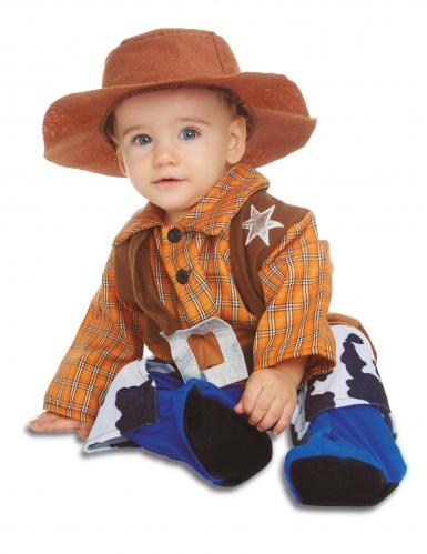 Déguisement avec chapeau cowboy bébé