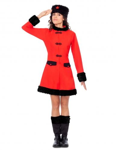 Deguisement robe soldat russe femme