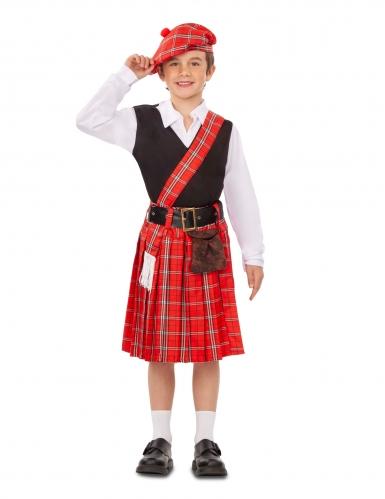 Déguisement petit Écossais garçon