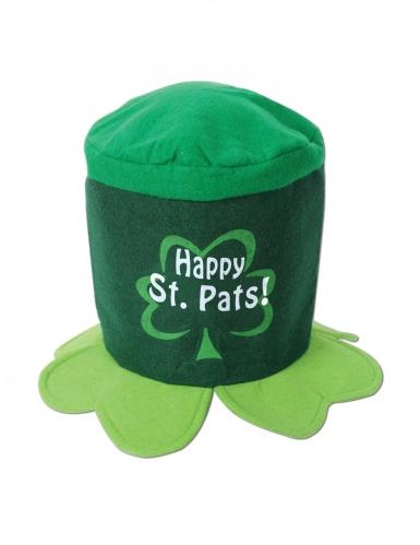 Chapeau trèfles Happy Saint Patrick's day adulte