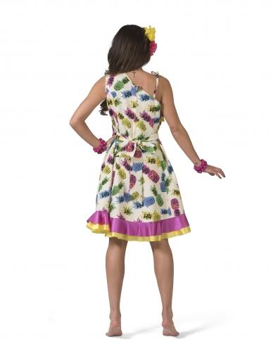 Déguisement robe à motif ananas femme-1