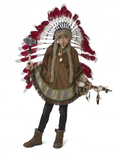 Poncho indien enfant