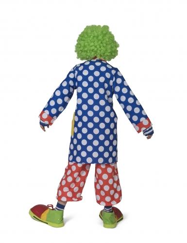 Manteau clown à motifs pois enfant-1