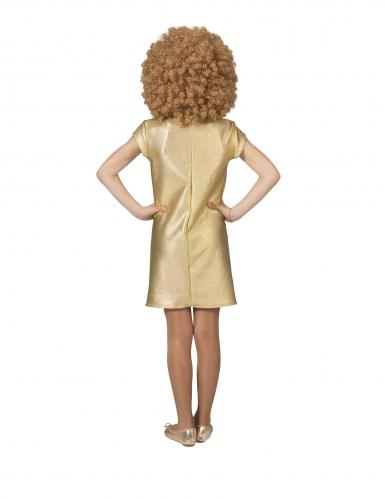 Déguisement robe dorée disco fille-1