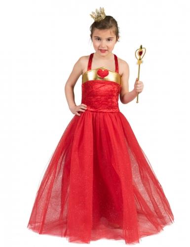 Déguisement princesse des coeurs enfant