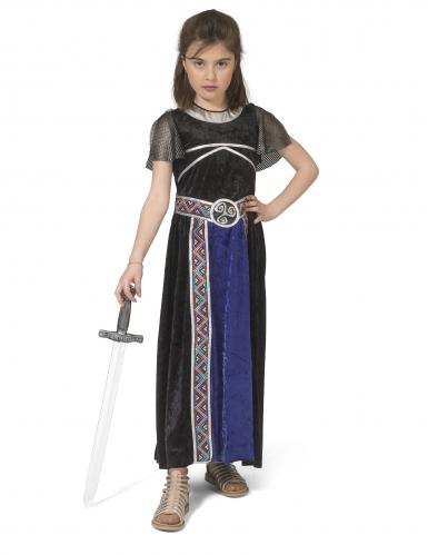 Déguisement robe guerrière fille