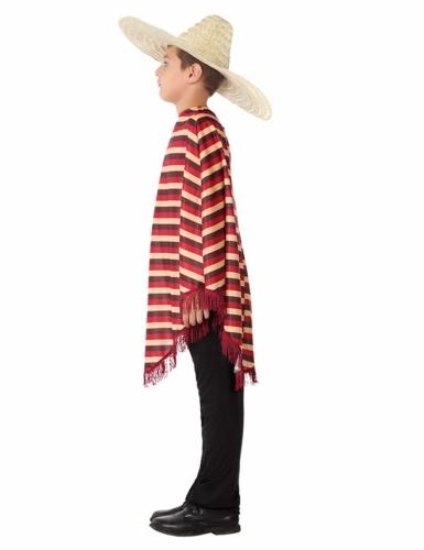 Déguisement de Mexicain avec poncho garçon-1