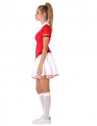 Déguisement de pompom girl américaine adolescente-1