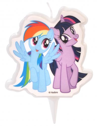 Bougie My Little Pony™ Rainbow Dash et Twilight Sparkle 6,5 cm