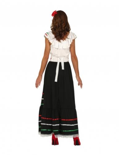 Déguisement mexicaine longue femme-1