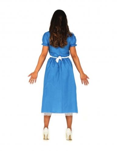 Déguisement princesse merveilleuse bleue femme-1
