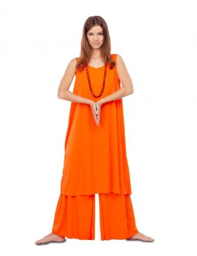 Déguisement disciple orange femme-1