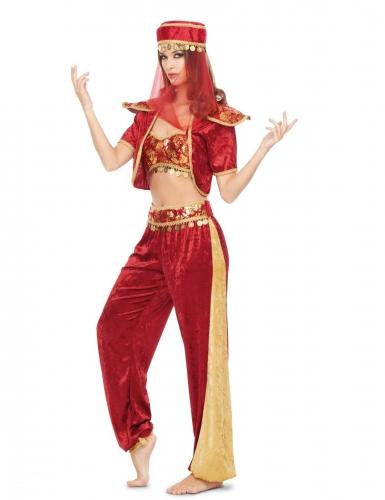 Déguisement danseuse d'Orient sexy femme