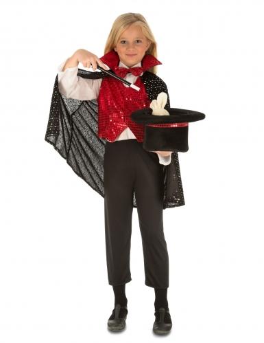 Kit déguisement avec accessoires magicien enfant-1
