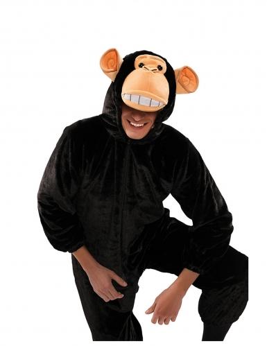 Déguisement singe noir adulte-1