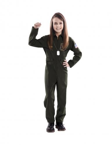 Déguisement pilote d'avion de chasse enfant-1
